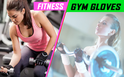 Fitness Gym Weightlifting Gloves
