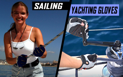 Marine Sailing Yachting Gloves