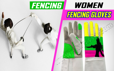 Women Fencing Gloves