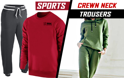 Sports Crewn Neck and Trouser