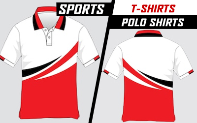 Sports T-shirts and Polo Shirts