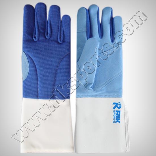 Fencing Gloves Blue