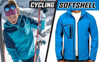 Cycling Winter Softshell Jackets