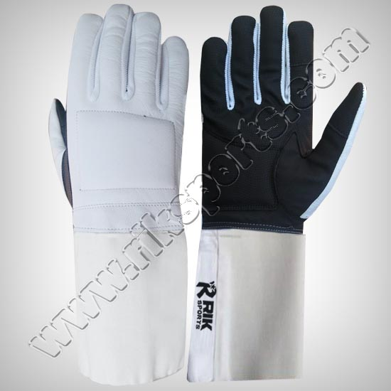 Fencing Gloves Leather Sarino
