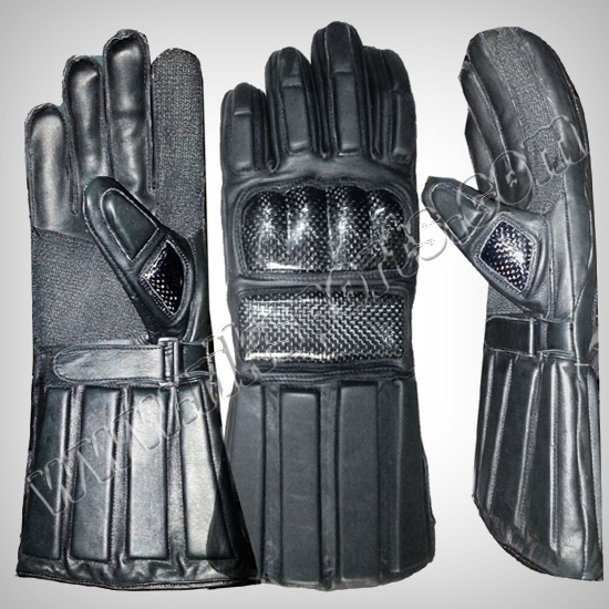 Hema Leather Sword Gloves