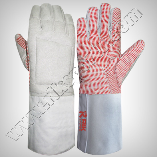 Fencing Gloves Silicoated FRS-06-101