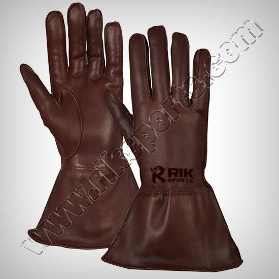 Fencing Infinity Sword Gloves Real Leather