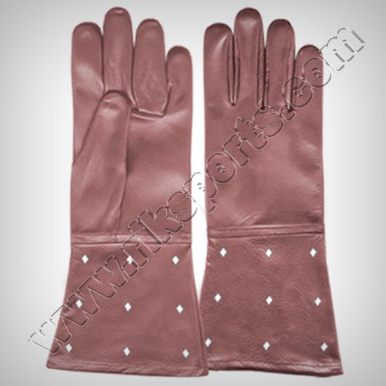 Fencing Leather Swordplay Gloves