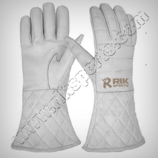 Leather Sword Fight Gloves