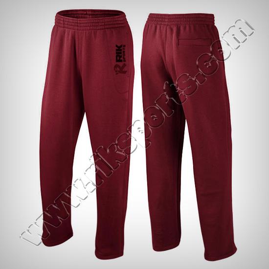 Men Fleece Casual Trousers