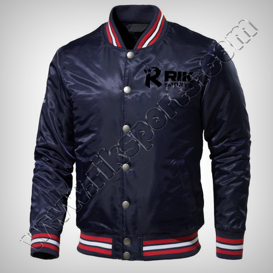 Satin Varsity Baseball Jackets