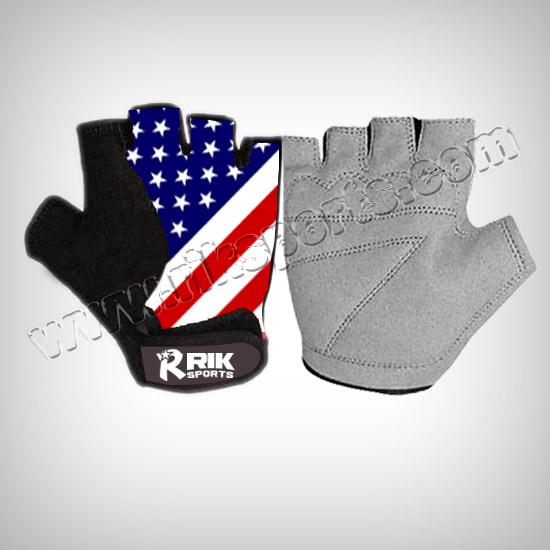 Cycling gloves USA Flag