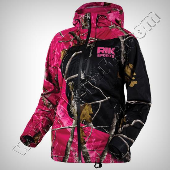 Women Camouflage softshell Jackets