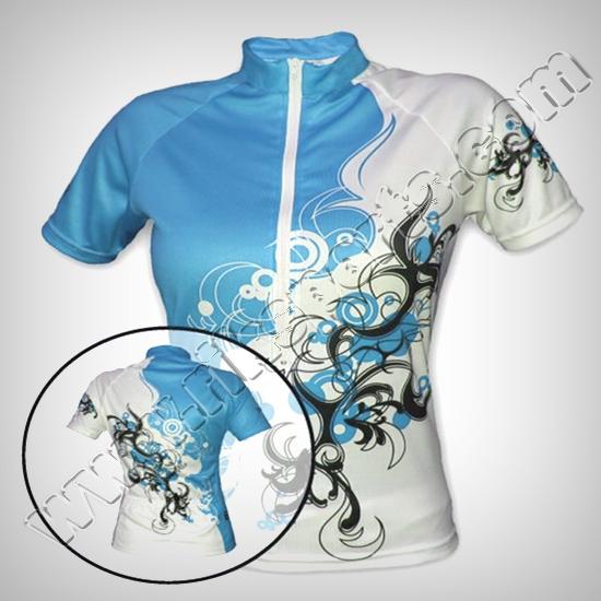 Women Sublimation Cycling Jerseys