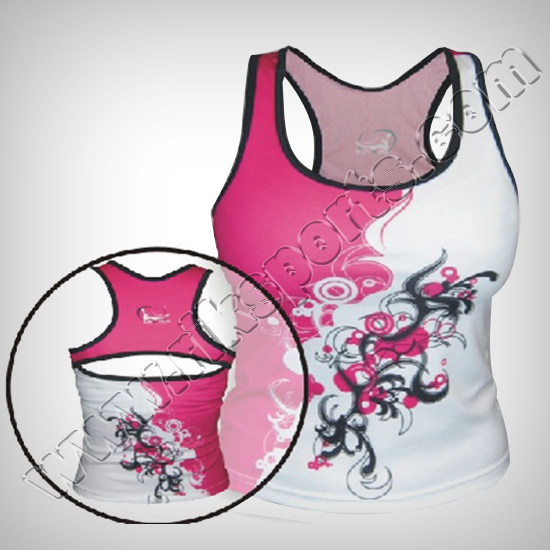 Women Cycling Sublimation tanktops