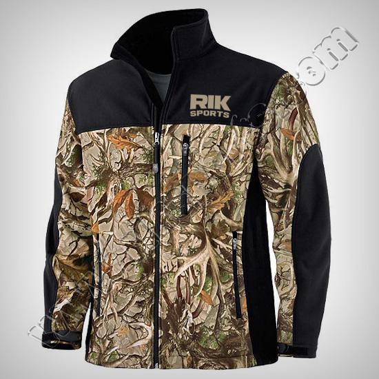 Men Camouflage softshell Jackets