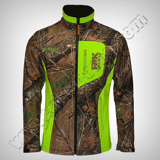 Winter Camouflage softshell Jackets Men