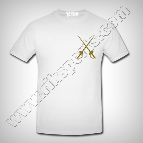 Men Fencing Cotton Tshirts