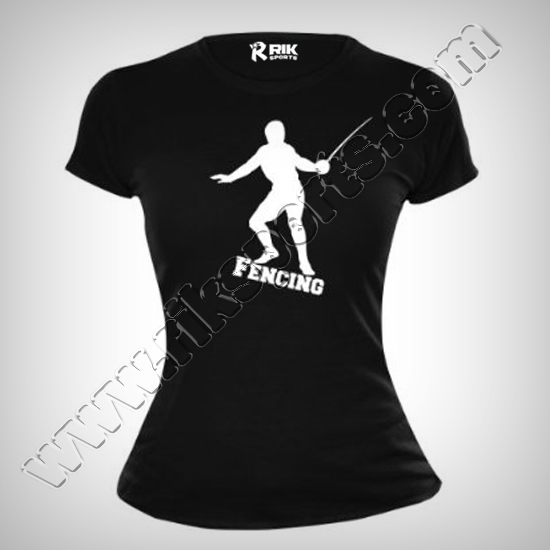Fencing T-Shirts Women