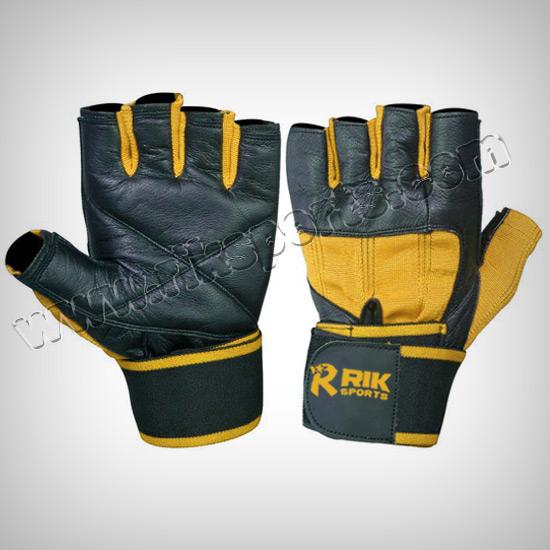 Wrist Wrap Fitness Gloves