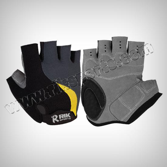 Men's fingerless cycling gloves